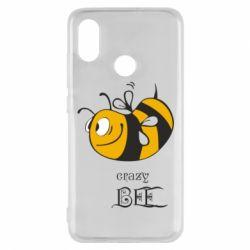 Чехол для Xiaomi Mi8 Сумасшедшая пчелка