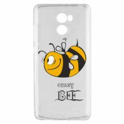 Чехол для Xiaomi Redmi 4 Сумасшедшая пчелка