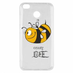Чехол для Xiaomi Redmi 4x Сумасшедшая пчелка