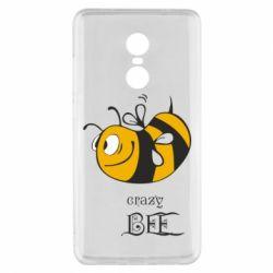 Чехол для Xiaomi Redmi Note 4x Сумасшедшая пчелка