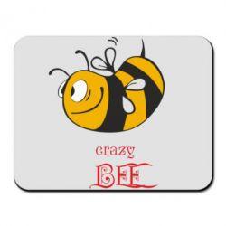 Коврик для мыши Сумасшедшая пчелка - FatLine