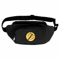 Сумка-бананка Bitcoin Hammer
