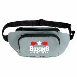 Сумка-бананка Boxing is my life