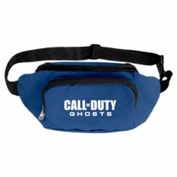 Сумка-бананка Call of Duty Ghosts логотип