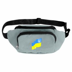 Сумка-бананка Флаг Украины с Гербом