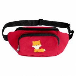 Сумка-бананка Little red fox