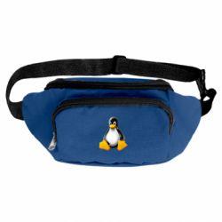 Сумка-бананка Пингвин Linux
