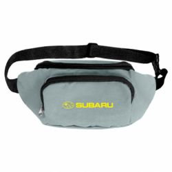 Сумка-бананка Subaru logo
