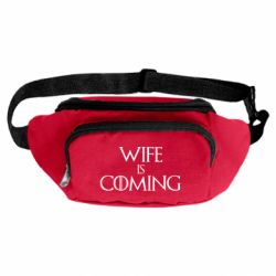 Сумка-бананка Wife is coming