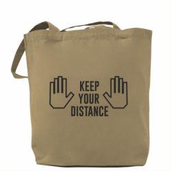 Сумка Keep your distance