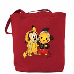 Сумка Mickey and Pikachu
