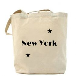Сумка New York and stars