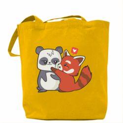 Сумка Panda and fire panda
