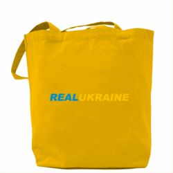 Сумка Real Ukraine text