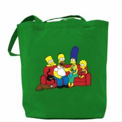 Сумка Simpsons At Home