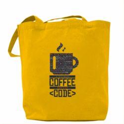 Сумка Сoffee code