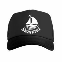 Кепка-тракер Summer and ship