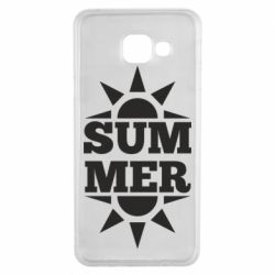 Чехол для Samsung A3 2016 Summer and sun