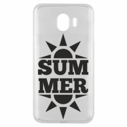 Чехол для Samsung J4 Summer and sun