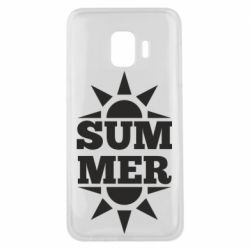 Чехол для Samsung J2 Core Summer and sun