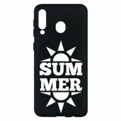 Чехол для Samsung M30 Summer and sun
