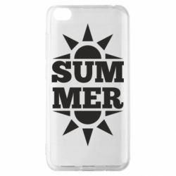 Чехол для Xiaomi Redmi Go Summer and sun