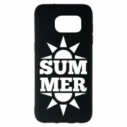 Чехол для Samsung S7 EDGE Summer and sun