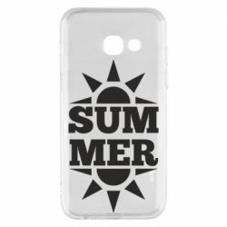 Чехол для Samsung A3 2017 Summer and sun