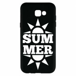 Чехол для Samsung A7 2017 Summer and sun