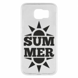 Чехол для Samsung S6 Summer and sun