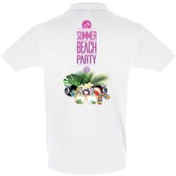 Купить Футболка Поло Summer beach party, FatLine