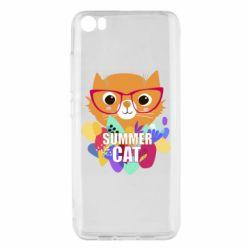 Чехол для Xiaomi Mi5/Mi5 Pro Summer cat