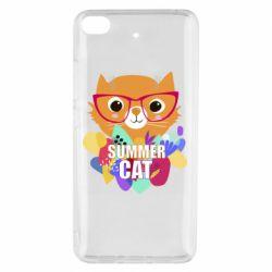 Чехол для Xiaomi Mi 5s Summer cat