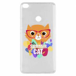 Чехол для Xiaomi Mi Max 2 Summer cat