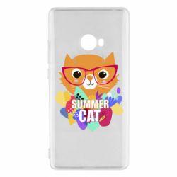 Чехол для Xiaomi Mi Note 2 Summer cat