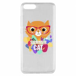 Чехол для Xiaomi Mi Note 3 Summer cat