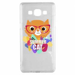 Чохол для Samsung A5 2015 Summer cat