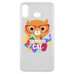 Чехол для Samsung A6s Summer cat