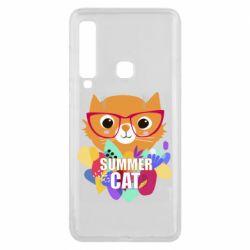 Чехол для Samsung A9 2018 Summer cat