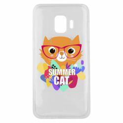 Чехол для Samsung J2 Core Summer cat