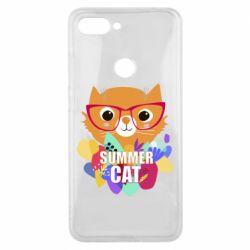 Чехол для Xiaomi Mi8 Lite Summer cat