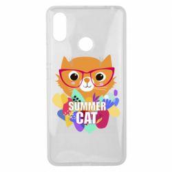 Чехол для Xiaomi Mi Max 3 Summer cat