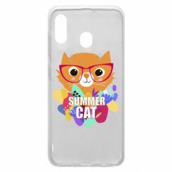 Чохол для Samsung A30 Summer cat