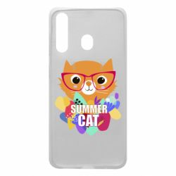 Чехол для Samsung A60 Summer cat