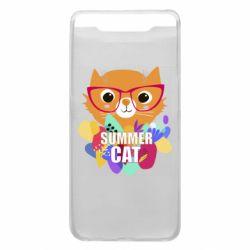 Чохол для Samsung A80 Summer cat