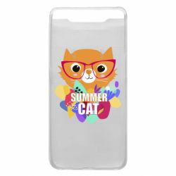 Чехол для Samsung A80 Summer cat