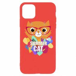 Чехол для iPhone 11 Pro Summer cat
