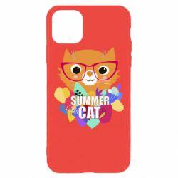 Чохол для iPhone 11 Pro Max Summer cat