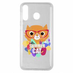 Чехол для Samsung M30 Summer cat