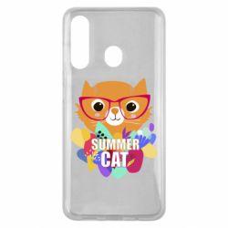 Чехол для Samsung M40 Summer cat